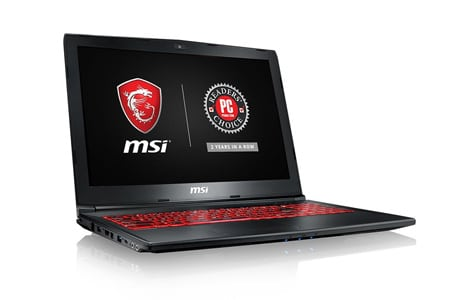 MSI GP72X Leopard-667 Gaming Laptop