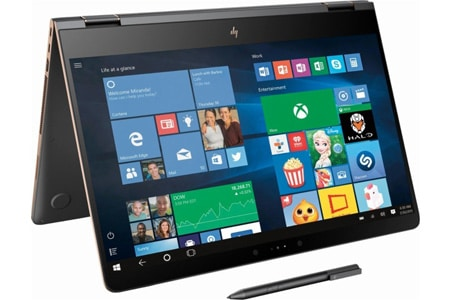HP Spectre x360 15t withActive Stylus