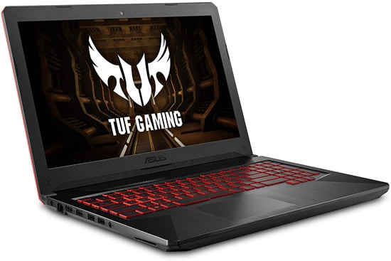 ASUS FX504 Thin Gaming Laptop