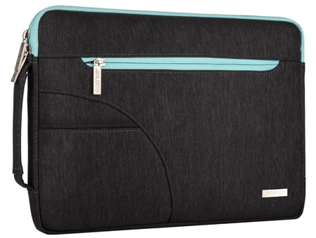 Mosiso Polyester Fabric Laptop Shoulder Bag Sleeve