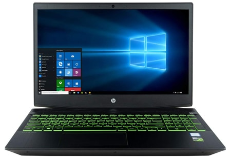 HP Pavilion Gaming 15t VR Ready