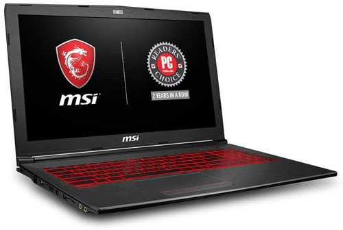 MSI GV62 8RD-034 Gaming Laptop