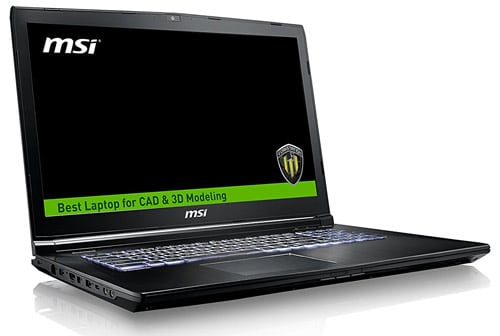MSI WE72 Workstation Laptop