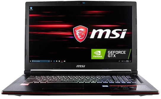 MSI GP73 Leopard VR Ready Gaming Laptop