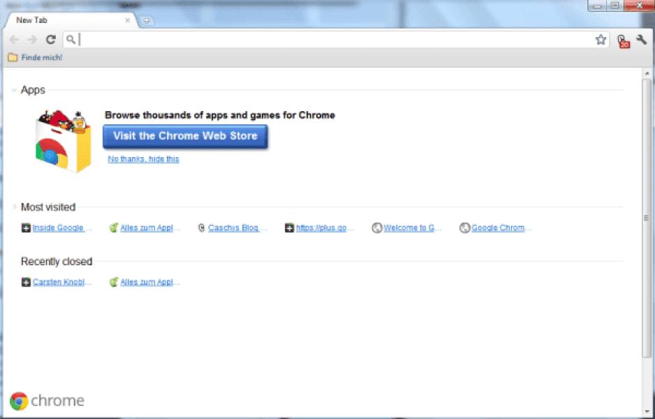 How to use Portable Google Chrome using USB flash drive
