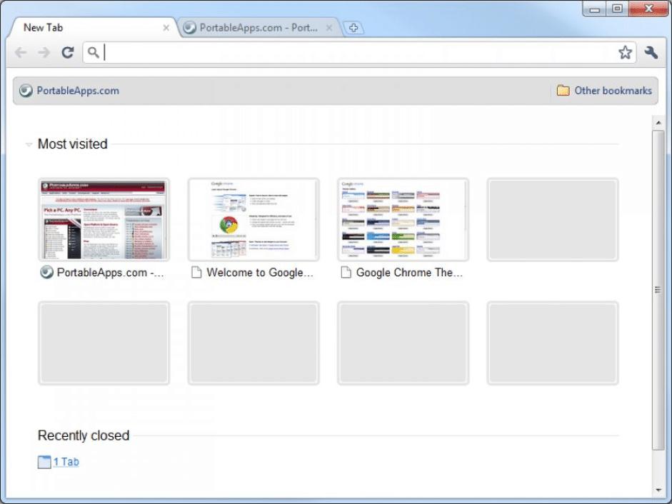How to use Portable Google Chrome